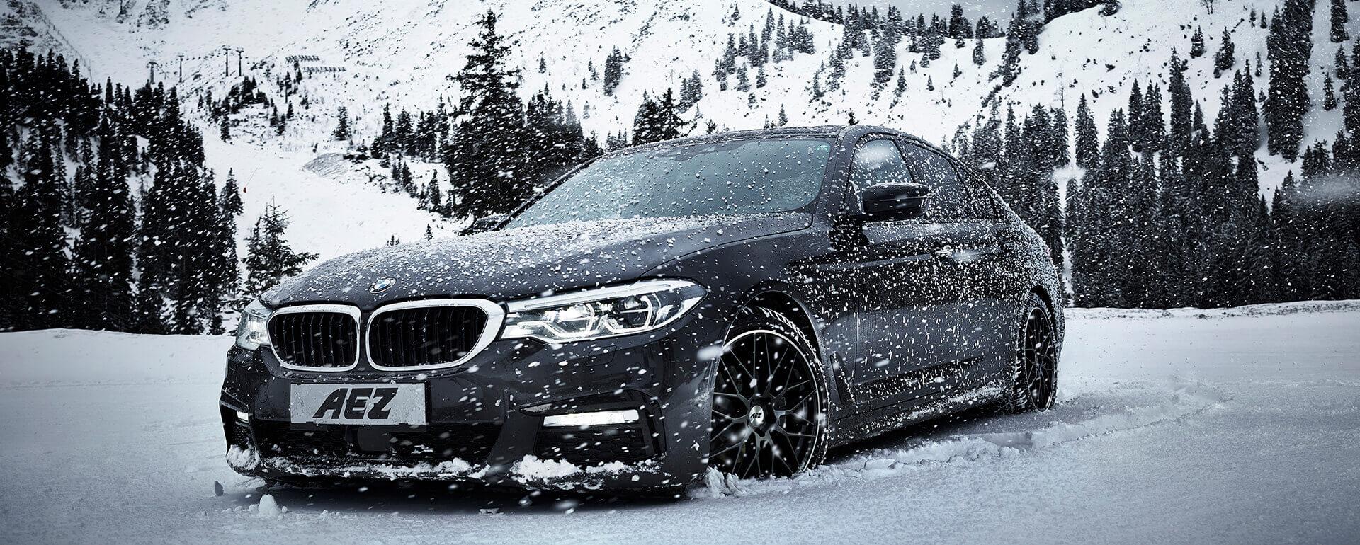 AEZ Crest dark BMW 5M Vinterdäck - Nymans Däck